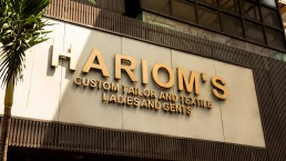 Harioms Store Front Pasar Baru