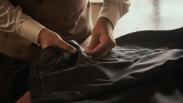 Workmanship | Craftship | Basted Stiching of a Suit