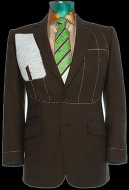 Semi Bespoke Suits Making