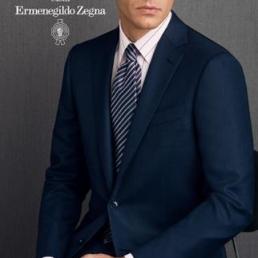 A custom made suit Harioms Ermenegildo ZegnaTailor