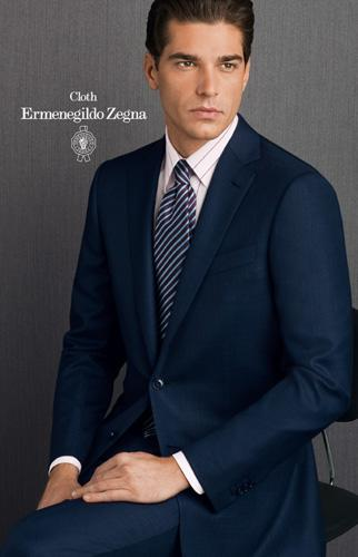 A custom made suit Harioms Ermenegildo ZegnaTailor