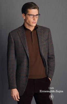 Fashionably formal and presentable ermnegildo zegna