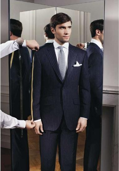the convenience of going custom made suit