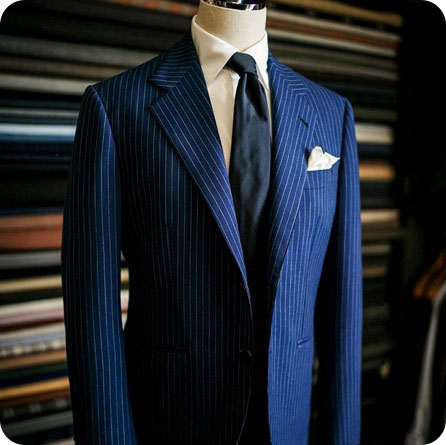 Notch Lapel Formal Suit